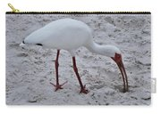 Adult White Ibis Carry-all Pouch