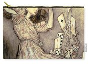 Adventures In Wonderland Carry-all Pouch by Arthur Rackham