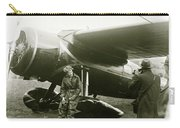 Amelia Earhardt, Ireland, Solo Atlantic Crossing, May 21st, 1932 Carry-all Pouch
