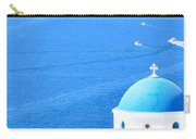 Aegean Blue Carry-all Pouch