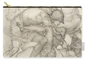 Aeneas Slaying Mezentius Carry-all Pouch
