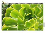 Aeonium Canariense Carry-all Pouch