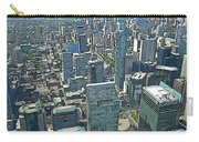 Aerial Abstract Toronto Carry-all Pouch