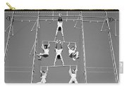 Aerial Circus Act, C.1940s Carry-all Pouch