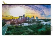 Aerial Of Charlotte North Carolina Skyline Carry-all Pouch