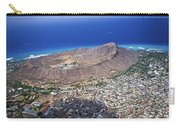 Aerial Of Diamond Head Carry-all Pouch