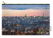 Aerial Of Midtown Manhattan With Empire State Building, New York Carry-all Pouch