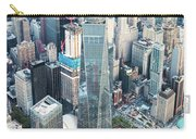 Aerial Of One World Trade Center, New York, Usa Carry-all Pouch