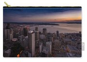 Aerial Seattle Westward View Carry-all Pouch