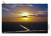 Aerial Sunset Over Canal Carry-all Pouch