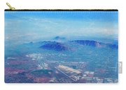 Aerial Usa. Los Angeles, California Carry-all Pouch