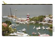 Aerial View Harbour Town Lighthouse In Hilton Head Island Carry-all Pouch