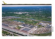 Aerial View Of A Racetrack Carry-all Pouch