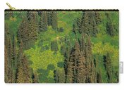 Aerial View Of Forest On Mountainside Carry-all Pouch