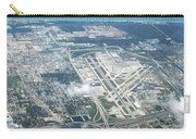 Aerial View Of Fort Lauderdale Airport. Fll Carry-all Pouch