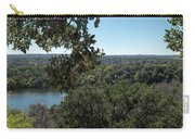 Aerial View Of Large Forest And Lake Carry-all Pouch