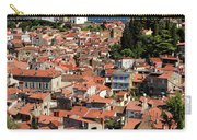Aerial View Of Piran Slovenia With St George's Cathedral On The  Carry-all Pouch