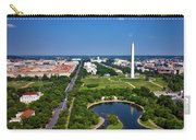 Aerial View Of The National Mall And Washington Monument Carry-all Pouch