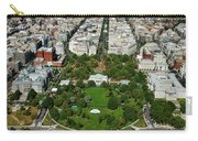 Aerial View Of The White House Carry-all Pouch