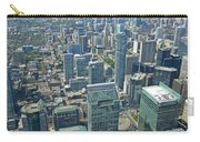 Aerial View Of Toronto Looking North Carry-all Pouch