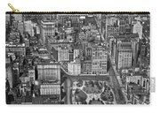 Aerial View Of Union Square Carry-all Pouch
