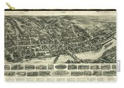 Aero View Of Watertown, Connecticut  Carry-all Pouch