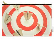 Aeroplane Target Pin Board Carry-all Pouch
