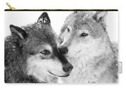 Affection Of Wolves Carry-all Pouch