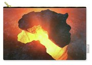 Africa Conceptual Design Carry-all Pouch