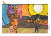 Africa Women Carry-all Pouch