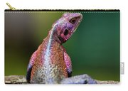 African Agama Lizard  Carry-all Pouch