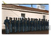 African American Troops In Us Civil War - 1965 Carry-all Pouch