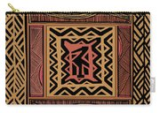 African Bird Collage Carry-all Pouch