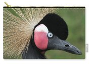 African Crowned Crane #7 Carry-all Pouch