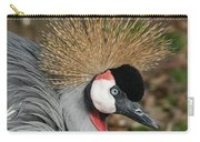 African Crowned Crane #8 Carry-all Pouch