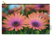 African Daisy Twins Carry-all Pouch