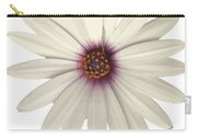 African Daisy With White Petals Carry-all Pouch