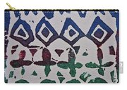 African Design  Carry-all Pouch
