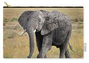 African Elephant Happy And Free Carry-all Pouch