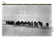 African Elephant Herd Carry-all Pouch