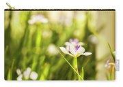 African Iris Bokeh Carry-all Pouch