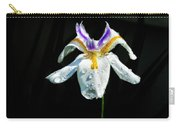 African Iris Raindrops Carry-all Pouch