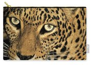 African Leopard Panthera Pardus Captive Wildlife Rescue Carry-all Pouch