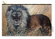 African Lion 2 Carry-all Pouch