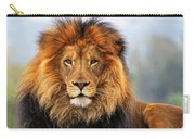 African Lion 1 Carry-all Pouch