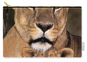 African Lions Parenthood Wildlife Rescue Carry-all Pouch