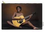 African Nude And Guitar 1184.02 Carry-all Pouch
