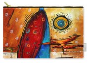African Queen Original Madart Painting Carry-all Pouch