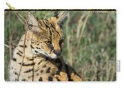 African Serval In Ngorongoro Conservation Area Carry-all Pouch