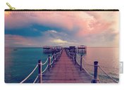 African Sunrise Cotton Candy Skies Carry-all Pouch